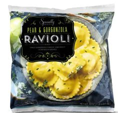 These luxurious ravioli bites, available March 10, are just the ticket to help usher in the flavors of spring. Cook them in a butter sauce and sprinkle with fresh herbs. Dinner is served. Lentil Veggie Burger, Buffalo Burgers, Sweet Bourbon, Grilled Flatbread, Dinners To Make, Snack Recipes, Snacks, Salad Dressing Recipes, Frozen Meals