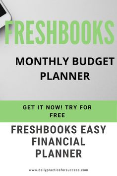 Let Freshbooks Financial Planner make your budgeting days feel like a holiday! Save a lot of time with drag and drop features. Cloudbased secure system for paying bills, sending invoices. Manage on the go with Freshbooks App. Monthly Budget Planner, Financial Planner, Marketing Tools, Internet Marketing, Invoice Sent, Daily Thoughts, Search Engine Marketing, Earn Money Online, Growing Your Business