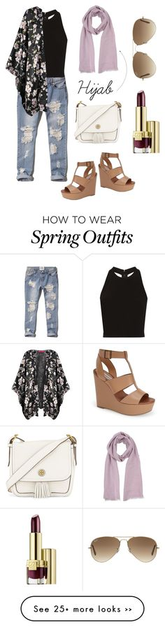 """""""spring outfit with hijab"""" by sagal-1227 on Polyvore"""