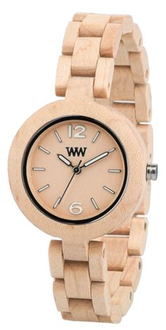 Wewood Wooden Watches check them out! #feelthewood