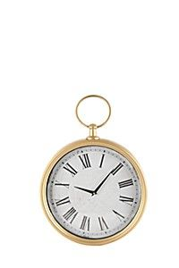 CLASSIC CLOCK Hanging Clock, Classic Clocks, Pocket Watch, House Styles, Luxury, Gold, Accessories, Dining Area, Flat