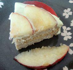 'tres leches' cake from Japan with okara, kinako, etc,,,
