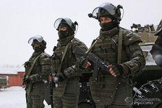 Russian FSB Operators In Heavy FORT Gear
