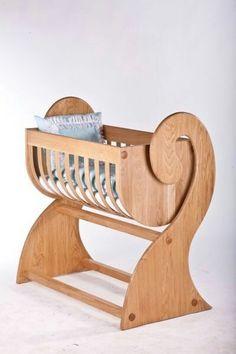 Woodworking is the skill that allows you to work on various wooden projects, such as doors and tables. Particularly, this is one of those skills that you are not . Baby Furniture, Wood Furniture, Furniture Design, Wooden Cradle, Wooden Toys, Easy Woodworking Projects, Wood Projects, Woodworking Books, Baby Cribs