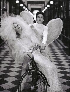 Karl Lagerfeld for Italian Elle, Chanel Haute Couture dress