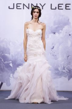 Pin for Later: The Must-See Wedding Dresses From Bridal Fashion Week Autumn 2014  Jenny Lee Bridal Autumn 2014