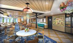 New Details About Quick-and-Casual Family Dining Aboard the Disney Wish | Disney Parks Blog Disney Wishes, Disney Cruise Line, Mickey And Friends, Marceline, Disney Cruise