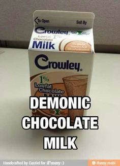 THE WINCHESTER FAMILY WAY FACEBOOK PAGE TWFW (King of the Demonic Chocolate milk thank you very much!)