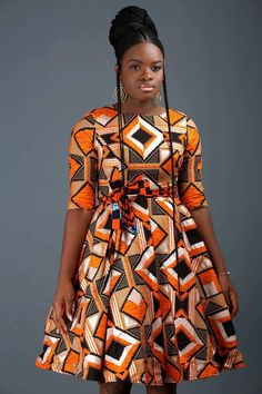 African Dresses Styles: Checkout This Creative African Dress Design African Dresses Styles: Checkout This Creative African Dress Design - Dabonke : Nigeria Latest Gist and Fashion 2019 Short African Dresses, Latest African Fashion Dresses, African Print Dresses, African Print Fashion, African Dress Styles, Ankara Styles, Ankara Mode, Ankara Gowns, African Traditional Dresses