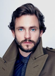 Hugh Dancy— I love his eyes! I look at peoples eyes first. They are the window into the soul!