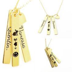 #gümüşkolye #kolye #barkolye #gümüş #isimlikolye Dog Tags, Dog Tag Necklace, Jewelery, Personality, Jewlery, Jewels, Jewerly, Schmuck, Jewelry