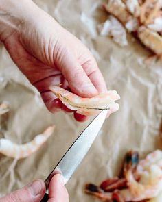 How To Peel & Devein Shrimp