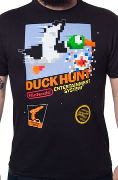 Nintendo Duck Hunt Shirt: Nintendo Mens T-Shirt