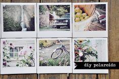 diy polaroids