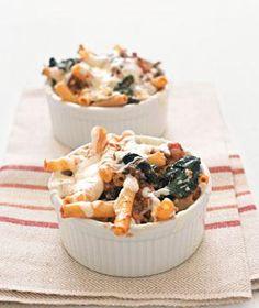 Lasagna-Style Baked Ziti recipe