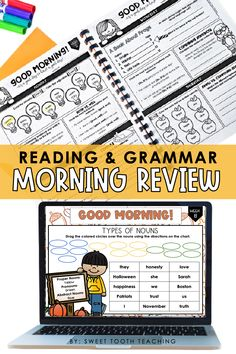Engage your 3rd, 4th, and 5th grade students with this fall themed digital and printable morning work bundle that contains 9 weeks worth of activities. Students will love these cause and effect activities, common/proper/concrete/abstract noun activities, engaging writing prompts, parts of speech, and so much more! Use this for morning work or even for your fast finishers or even as a literacy center for digital learning. Start using these fall themed morning work ideas today! Noun Activities, Cause And Effect Activities, Abstract Nouns, Fast Finishers, Parts Of Speech, Morning Work, Literacy Centers, Guided Reading, Learning Resources
