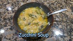 Italian Grandma Makes Zucchini Soup ~ must try this! and she's so cute to watch! Soup Recipes, Vegetarian Recipes, New Recipes, Cooking Recipes, Favorite Recipes, Healthy Recipes, Chili Recipes, Bowl Of Soup, Soup And Salad