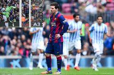 Barca beaten – Malaga Oo Garoonkooda Ku Karbaashtay Barcelona