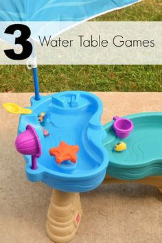 3 Water Table Games with the Step2 Spill & Splash Seaway Water Table #step2ambassador #sponsored #step2kids @step2 | 3 fun games for kids to play with their water table
