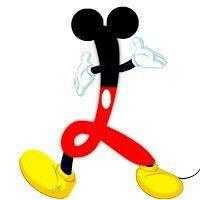 """L"" Mickey style"