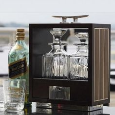Find luxury gifts for men and women at GiftVault and send beautifully wrapped designer gifts from top luxury brands - GiftVault, The Luxury Gift. Hunting Accessories, Decorative Accessories, Luxury Gifts For Men, Decanter, Luxury Branding, Liquor Cabinet, Silver Plate, Inspiration, Fresco
