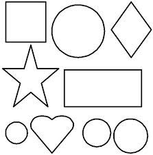Shapes coloring pages for toddlers | Toddler / Preschool Activities ...