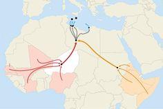 Agadez Traffickers Profit From Movement Through Niger to Libya - WSJ