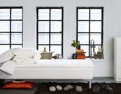 ***black window frames