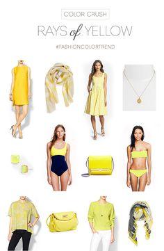 Color Crush: Yellow - Annie Johnson | Design Love Life #colortrend #fashion