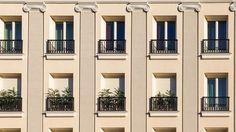 Spain, Madrid, Building, Facade