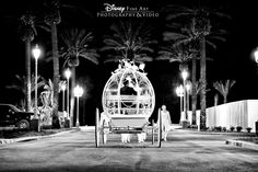 Calling all Princess Brides! Repin if your dream wedding includes (or included) a ride in Cinderella's Coach. #Disney