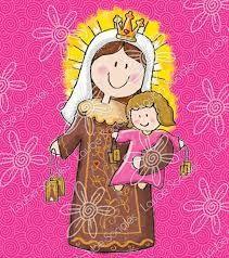 "Képtalálat a következőre: ""Carmen More"" Saint Nicholas, Madonna And Child, Blessed Virgin Mary, Bible Crafts, Catholic Saints, Lessons For Kids, Mother Mary, Religious Art, Altered Books"
