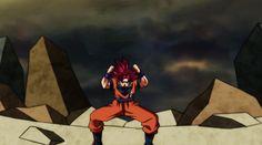 SSJG to SSJ Blue Goku.