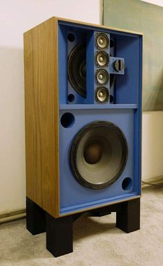 Pro Audio Speakers, Audiophile Speakers, Diy Speakers, Hifi Audio, Home Theater Sound System, Home Theatre Sound, Speaker Plans, Speaker Box Design, Altec Lansing