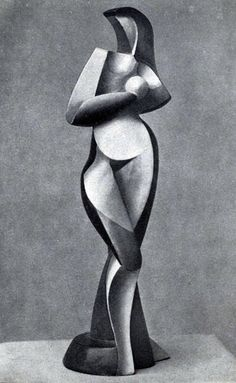 Sculpture by Alexander Archipenko (Ukrainian 1887 - Sculptures Céramiques, Art Sculpture, Bronze Sculpture, Oeuvre D'art, Land Art, Figurative Art, Metal Art, Sculpting, Modern Art