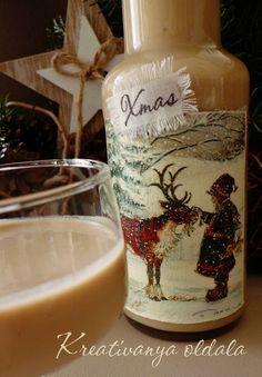 Karácsony közeledtével elkészítettem (szerintem) életem eddigi legfinomabb likőrjét. Nem vagyok igazán alkohol párti, sőt... Még szilve...