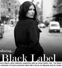 Anna Scholz Black Label Fall 2013