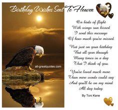 Birthday Wishes Sent To Heaven