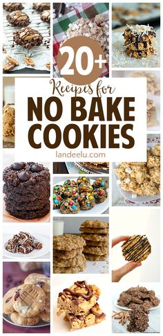 So many yummy no bake cookies desserts recipes to make! I have to try those turtle cookies ASAP! Cookie Desserts, No Bake Desserts, Just Desserts, Cookie Recipes, Delicious Desserts, Dessert Recipes, Baking Desserts, Popcorn Recipes, Baking Cookies