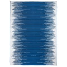 """IKEA - SOMMAR 2016, flatwoven rug. 5'11"""" x 7'10"""" $34.99.  Use to stage small bedroom. Add sailboats print, credenza, pole-lamp table to left of bed."""