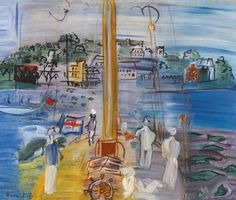thunderstruck9:  Raoul Dufy (French, 1877-1953), Cowes. Oil on canvas, 38.5 x 46.5 cm.