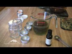 a good video by mountain rose about how to make salves