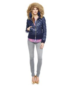 QUILTED PUFFER JACKET - Juicy Couture