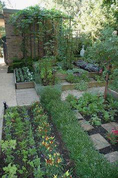 beautiful vegetable garden design ideas #vegetablegardeningdesign