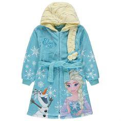 Girls Disney Frozen Elsa Bath Robe