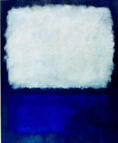Grey and Blue by Mark Rothko (1962)