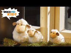 Osterlämmchen - süsse kleine Schäfchen filzen (mit Anleitung!) - YouTube
