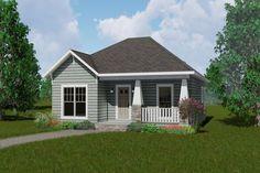Plan #44-178 - Houseplans.com 1073 sq ft. 2/2