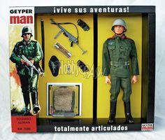 Geyperman soldado alemán 7080 - Geyperman reedición - Geyper - Hobbycrash