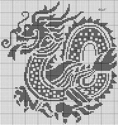 Вышиваем дракона и иероглифы. Комментарии : LiveInternet - Российский Сервис Онлайн-Дневников